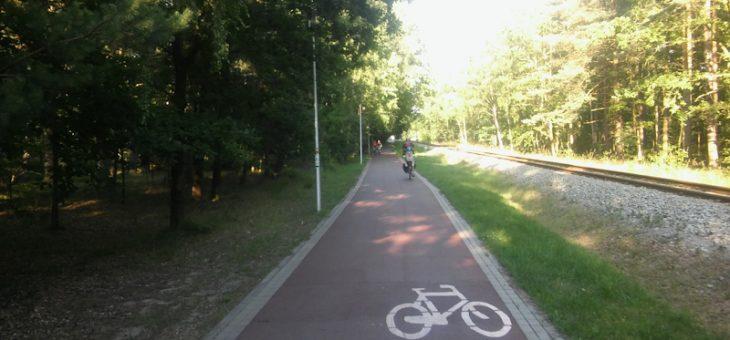 Polskie wybrzeże na rowerach z małym dzieckiem – szlak R10 – część 3
