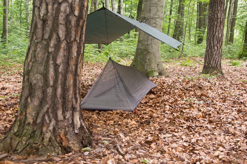 schronienie ultralight ultralekki namiot moskitiera-11