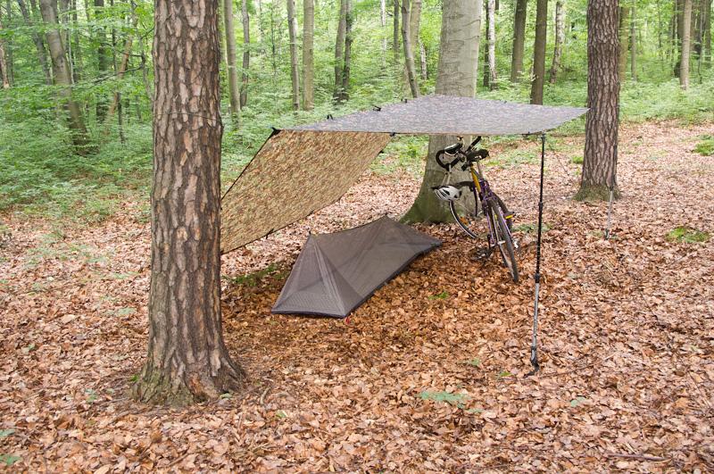 schronienie ultralight ultralekki namiot moskitiera-21
