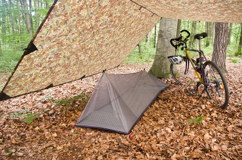 schronienie ultralight ultralekki namiot moskitiera-23