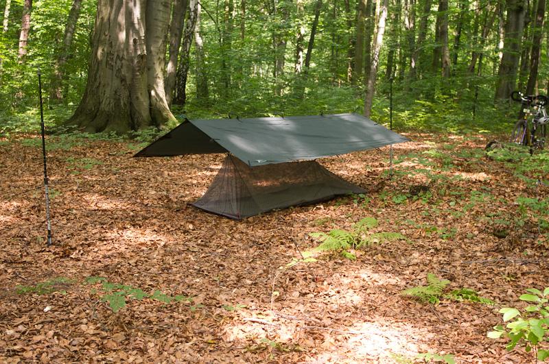 schronienie ultralight ultralekki namiot moskitiera-29